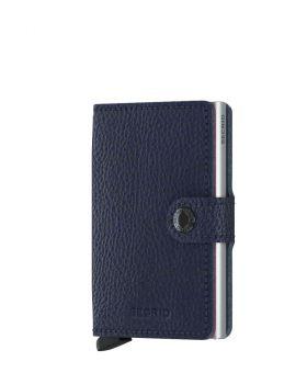 Secrid mini wallet leather veg navy