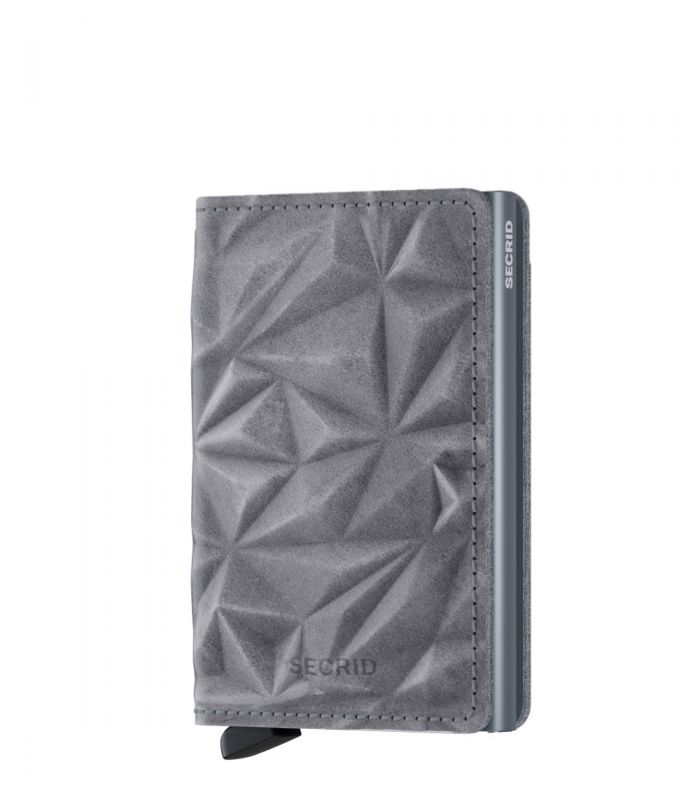 Secrid slim wallet leather prism stone