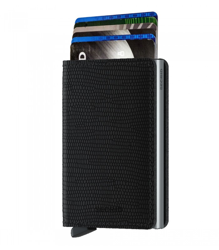 Secrid slim wallet leather Rango black