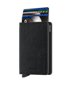 Secrid slim wallet leather veg black
