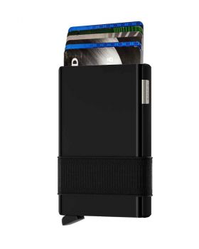 Secrid card slide new black-black