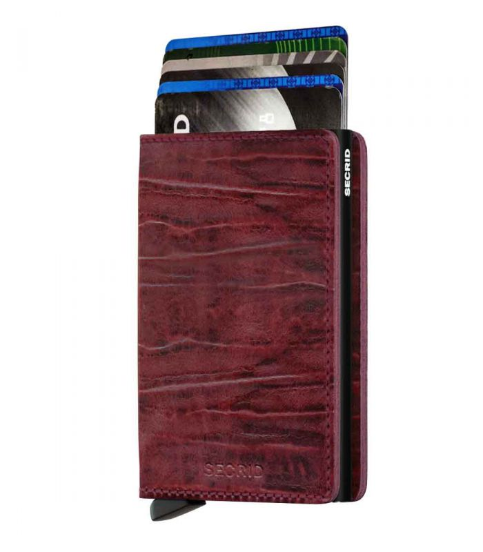 SECRID - Secrid slim wallet leather Dutch Martin bordeaux