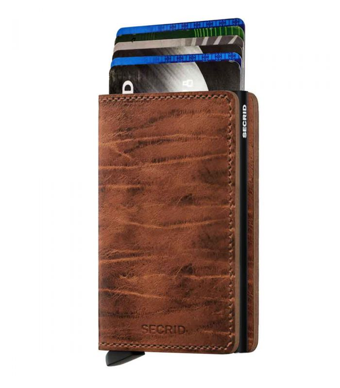 SECRID - Secrid slim wallet leather Dutch Martin whiskey
