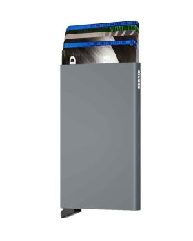 Secrid card protector aluminium in color titanium