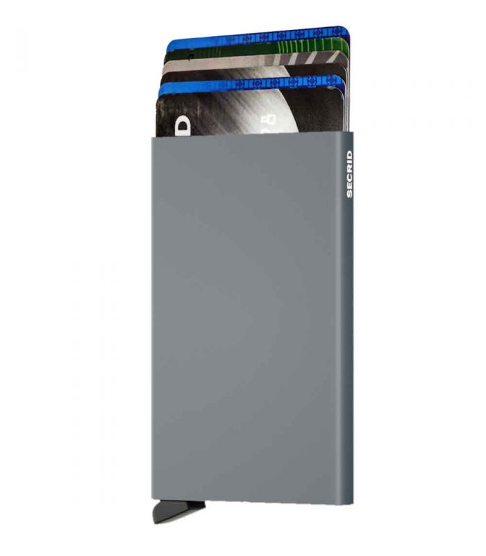 SECRID - Secrid card protector aluminium in color titanium