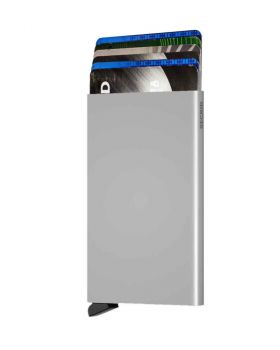 Secrid card protector aluminium in color silver