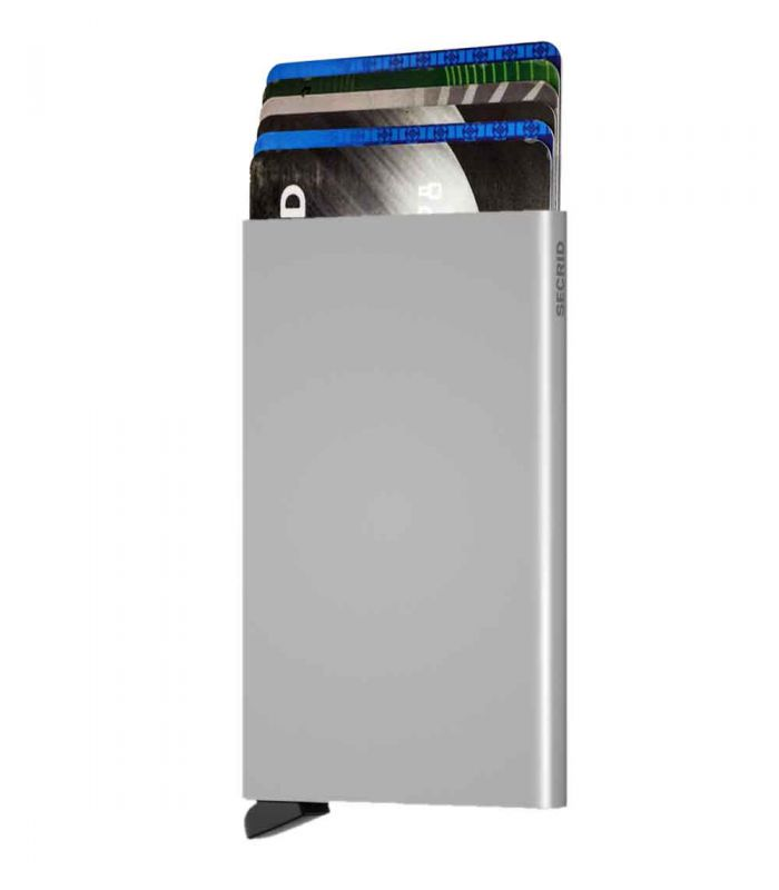 SECRID - Secrid card protector aluminium in color silver